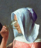 Vermeer glass_face